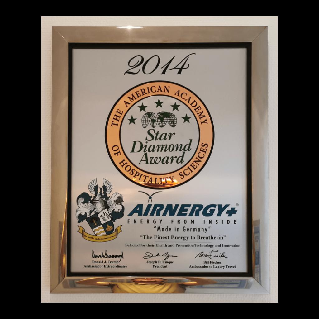 Make Air Great Again Star Diamond Award AIRNERGY